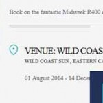 Trip review: Wild Coast Sun R400pn + Etihad honours the airfare mistake + Traveloyalty adds Hyatt platinum taste to the mix.