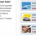 SAA JourneyBlitz Business class from R290 + Accor super sale.