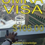 Umra visas $105 + Uae Visas$96 + Hyatt Diamond update.