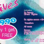 R29,990 Maldives Buy1 Get1 free + Hiltons new promo