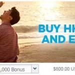 Hilton HHonors BONUS buy points promotion
