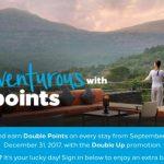 Promos and offers Quarter 4 2017. IHG +Hilton +Marriott