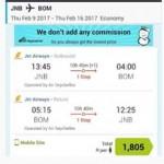 Mumbai India for R1700 return + IHG Accelerate promo + Accor 3 for 2 promo.